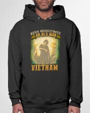Old Man Served In Vietnam Hooded Sweatshirt garment-hooded-sweatshirt-front-03