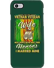Vietnam Veteran Wife Married Their Heroes Phone Case thumbnail