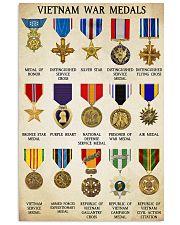 Vietnam War Medals 11x17 Poster front