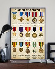 Vietnam War Medals 11x17 Poster lifestyle-poster-2