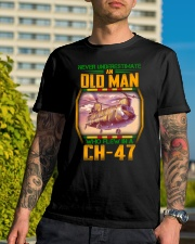 Flew In A CH-47 Classic T-Shirt lifestyle-mens-crewneck-front-8