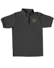 Combat Veteran Vietnam-CIB Classic Polo embroidery-polo-short-sleeve-layflat-front