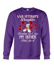 WWII Daughter Crewneck Sweatshirt thumbnail