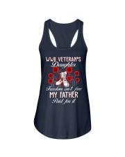 WWII Daughter Ladies Flowy Tank thumbnail