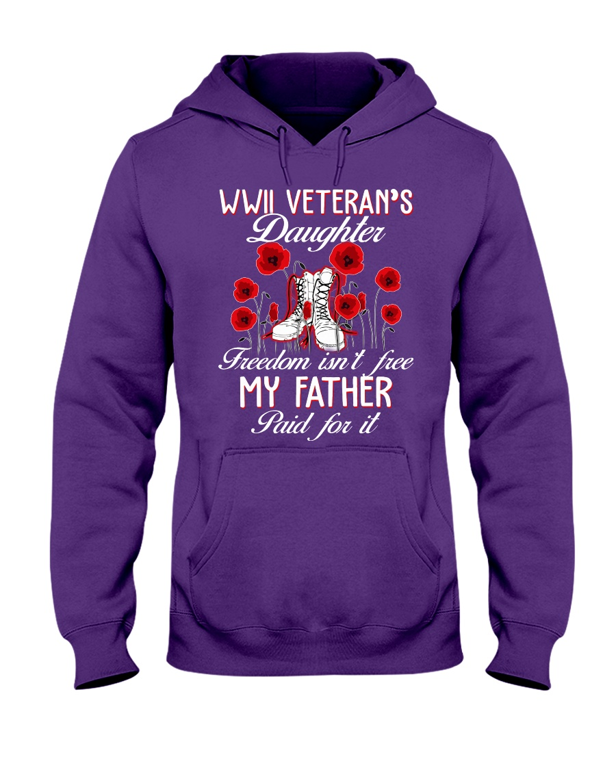 WWII Daughter Hooded Sweatshirt
