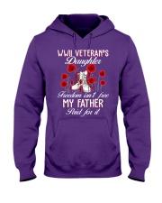 WWII Daughter Hooded Sweatshirt front