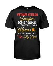 My Dad-Vietnam Veteran Daughter Classic T-Shirt thumbnail