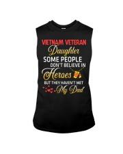 My Dad-Vietnam Veteran Daughter Sleeveless Tee thumbnail
