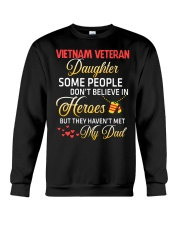My Dad-Vietnam Veteran Daughter Crewneck Sweatshirt thumbnail