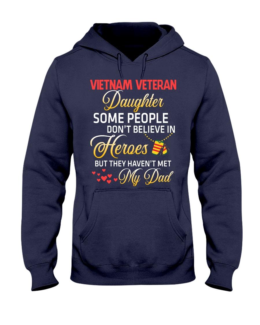 My Dad-Vietnam Veteran Daughter Hooded Sweatshirt