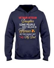 My Dad-Vietnam Veteran Daughter Hooded Sweatshirt front