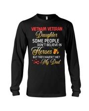 My Dad-Vietnam Veteran Daughter Long Sleeve Tee thumbnail