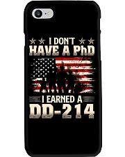 Earned A Dd-214 Phone Case thumbnail