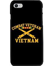 Combat Veteran Vietnam-Artillery Phone Case thumbnail