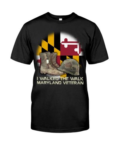 I Walked The Walk Maryland Veteran