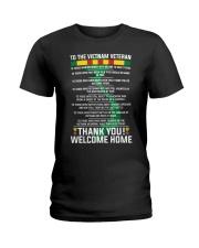Thank You Vietnam Veterans Ladies T-Shirt thumbnail