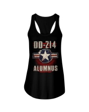 DD 214 Aircraft Alumnus Ladies Flowy Tank tile