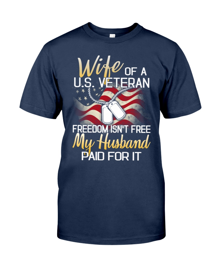 Wife Of A US Veteran Classic T-Shirt