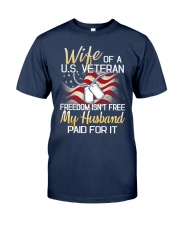 Wife Of A US Veteran Classic T-Shirt front