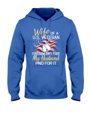Wife Of A US Veteran Hooded Sweatshirt thumbnail