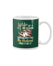 Wife Of A US Veteran Mug thumbnail