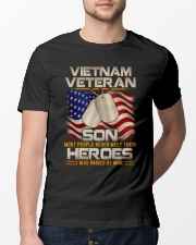 Vietnam Veteran Son Classic T-Shirt lifestyle-mens-crewneck-front-13