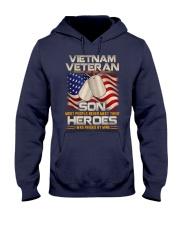 Vietnam Veteran Son Hooded Sweatshirt thumbnail