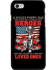 A Single Poppy Phone Case thumbnail