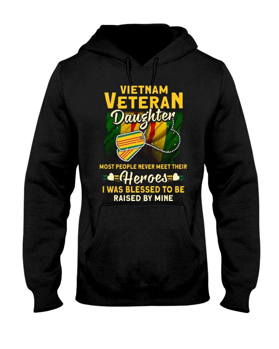 Hero Vietnam Veteran Daughter Hooded Sweatshirt