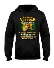 Hero Vietnam Veteran Daughter Hooded Sweatshirt front
