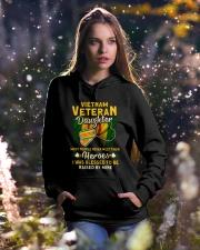Hero Vietnam Veteran Daughter Hooded Sweatshirt lifestyle-holiday-hoodie-front-5