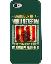 Grandson Of A WWII Veteran Phone Case thumbnail