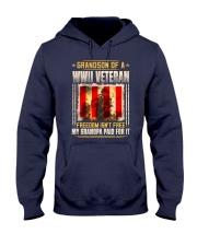 Grandson Of A WWII Veteran Hooded Sweatshirt thumbnail