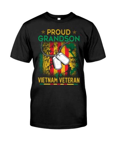Vietnam Veteran's Proud Grandson
