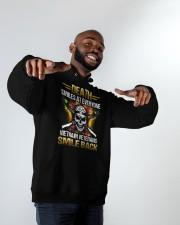 Smile Back Hooded Sweatshirt apparel-hooded-sweatshirt-lifestyle-front-12