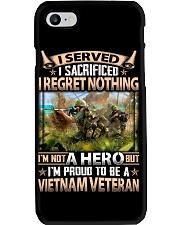 Regret Nothing Phone Case thumbnail