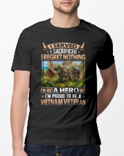 Regret Nothing Classic T-Shirt lifestyle-mens-crewneck-front-13