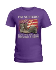 I'm No Hero But I've Walked Beside A Few Ladies T-Shirt thumbnail