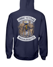 Massachusetts Combat Vet Hooded Sweatshirt thumbnail
