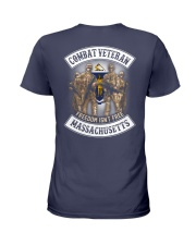 Massachusetts Combat Vet Ladies T-Shirt thumbnail