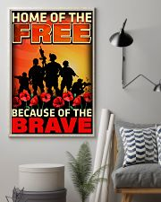 Because Of The Brave 16x24 Poster lifestyle-poster-1