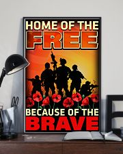 Because Of The Brave 16x24 Poster lifestyle-poster-2