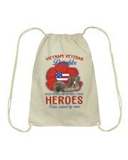 Hero Vietnam Veteran's Daughter Drawstring Bag thumbnail