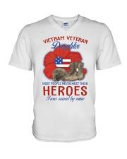 Hero Vietnam Veteran's Daughter V-Neck T-Shirt thumbnail