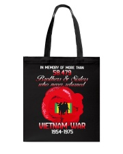 Poppy-In Memory Of Tote Bag thumbnail