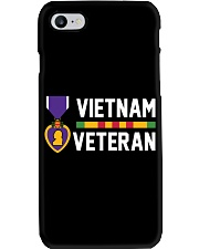 Vietnam Veteran-Purple Heart Phone Case tile