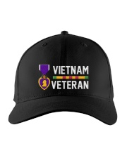 Vietnam Veteran-Purple Heart Embroidered Hat tile
