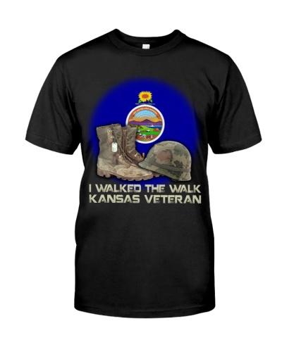 I Walked The Walk Kansas Veteran