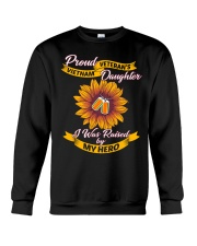 Proud Daughter Crewneck Sweatshirt thumbnail