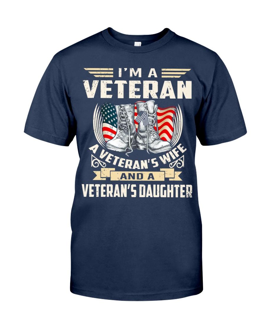 I'm A Veteran Classic T-Shirt